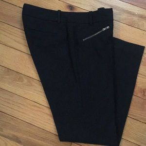 J Crew Ankle pants with zipper detail